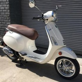 Vehicles Vespa, 2019 Primavera iGET 155cc ABS Bianco Innocenza
