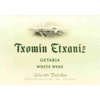 Txomin Txomin Etxaniz Txakoli 2018<br />Spain