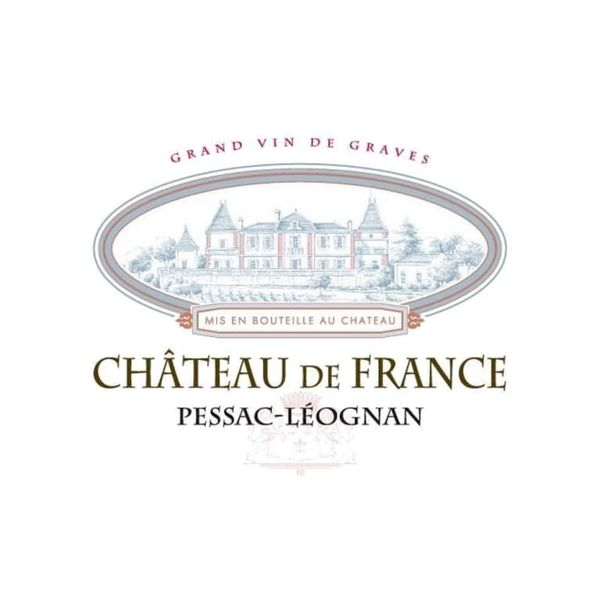 Chateau Vialard De France Rouge Pessac-Leognan 2016<br /> Bordeaux, France<br /> 94pts-WE, 92pts-WS, 92pts-JS