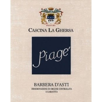 Cascina La Ghersa Cascina La Ghersa Piage Barbera D'Asti 2016  <br /> Piedmont, Italy