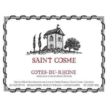 Saint Cosme Cotes-du-Rhone 2017<br /> Rhone, France<br /> 91pts-JS