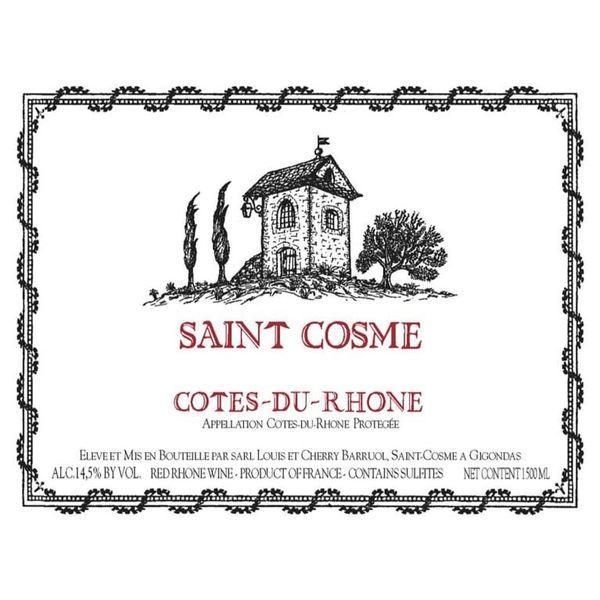 Chateau de Saint Cosme Cotes-du-Rhone 2019<br /> Rhone, France