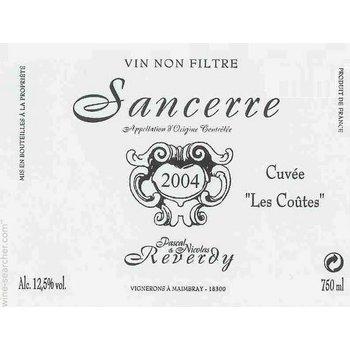 Dm Reverdy Pascal &amp; Nicolas Reverdy &quot;Les Coutes&quot; Sancerre 2017<br /> Loire, France