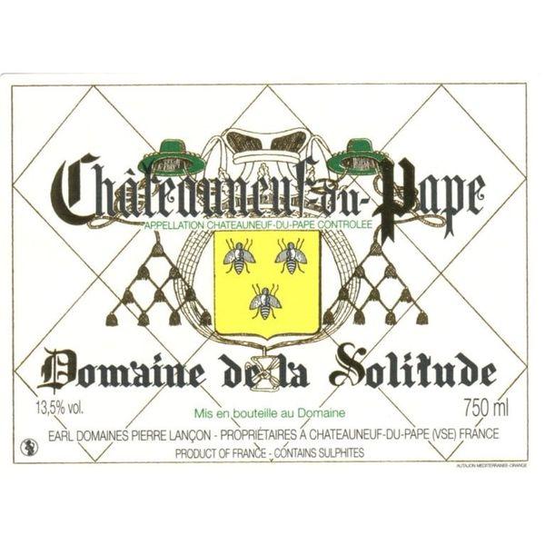 Dm Solitude Domaine de la Solitude Chateauneuf- du-Pape Blanc 2019<br /> Rhone, France