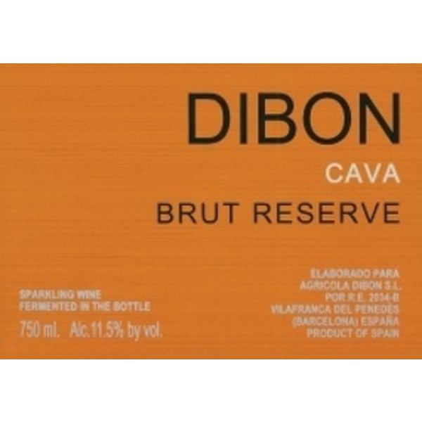 Dibon Dibon Sparkling Cava Brut Reserve <br />Spain