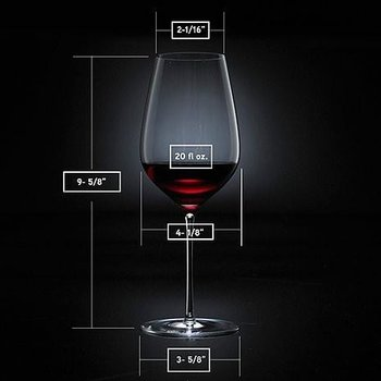 Fusion Air Universal Wine Glass