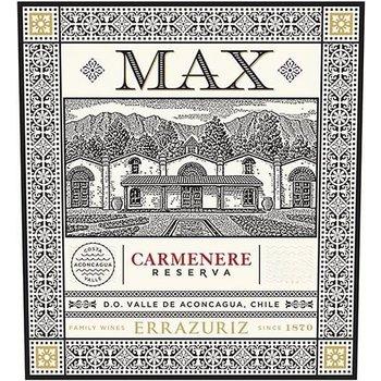 Errazuriz Errazuriz Max Reserva Carmenere 2018<br /> Aconcagua Valley, Chile<br /> 93pts-JS