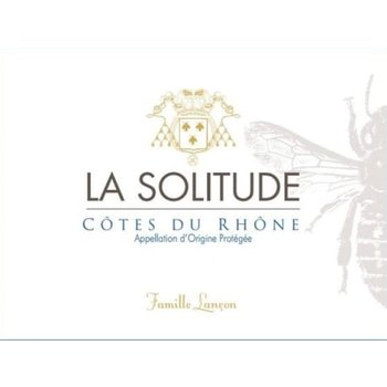 Dm Solitude Domaine de La Solitude Cotes-du-Rhone Blanc 2018  <br /> Rhone, France
