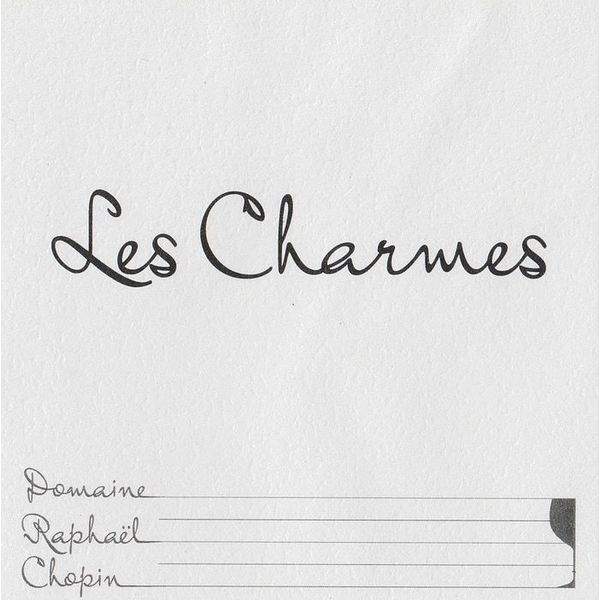 "Domaine Raphael Chopin Morgon ""Les Charmes' 2015<br /> Beaujolais, France"