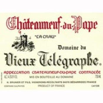 Dm Vieux Telegraphe Domaine du Vieux Telegraphe &quot;La Crau&quot; Chateauneuf-Du-Pape 2016<br />Rhone, France  <br /> 95pts-WS, 94pts-WA