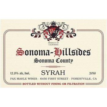 Pax Mahle Wines Pax Sonoma-Hillsides Syrah 2017<br /> Sonoma, California