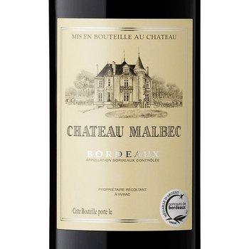 Ch Malbec Bordeaux Rouge 2015<br /> Bordeaux, France