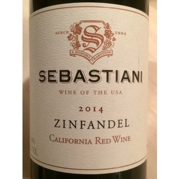 Sebastiani Zinfandel 2014<br /> Sonoma, California