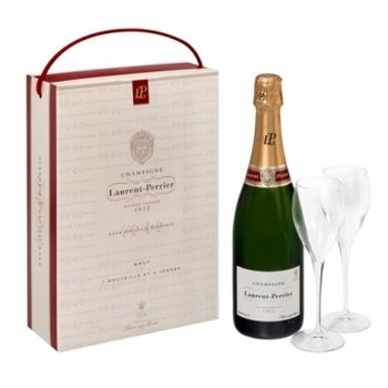 Laurent-Perrier Champagne w/2 Flutes Gift Pack<br />Champagne, France