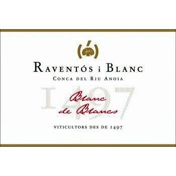 Raventos Blanc Raventos i Blanc Blanc de Blancs Sparkling Brut Conca del Riu Anoia 2017 <br /> Spain