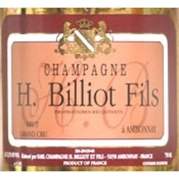 Henri Billiot H.Billiot Rose Grand Cru Brut Champagne<br />