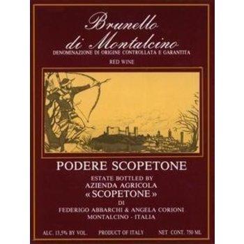 Scopetone Podere Scopetone Brunello di Montalcino 2013  <br /> Tuscany, Italy