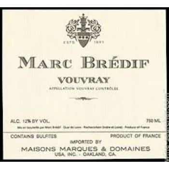 Marc Bredif Marc Bredif Vouvray 2016<br />Loire, France