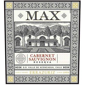 Errazuriz Errazuriz Max Reserva Cabernet Savignon 2016<br />Aconcagua Valley, Chile  <br /> 92pts-JS, 90pts-WE