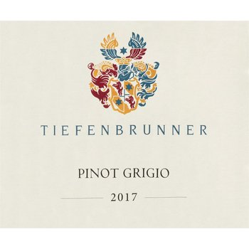 Tiefenbrunner Tiefenbrunner Pinot Grigio 2017<br />Italy  90pts-WS<br /> #67 Wine Spectator Top 100 of 2018