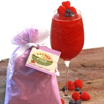Nector Of The Vine Very Berry Raspberry Wine Slushy Mix