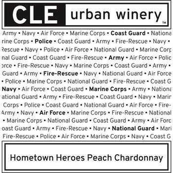 Cle Urban Winery Hometown Heroes Peach Chardonnay<br /> Ohio