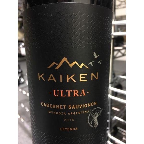 Kaiken Ultra Cabernet Sauvignon 2016<br /> Mendoza, Argentina