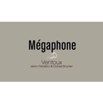 Vignobles Brunier Megaphone Rouge 2016<br />Cotes du Ventoux, Rhone, France