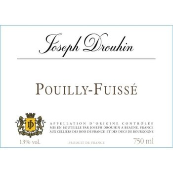 Drouhin Joseph Drouhin Pouilly Fuisse 2018<br />