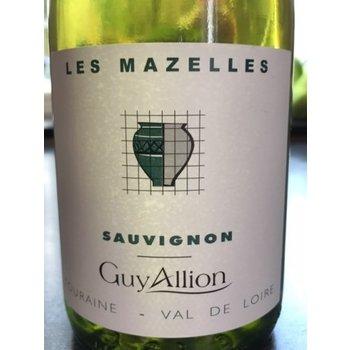Domaine Guy Allion Les Mazelles Sauvignon Blanc 2016 <br /> Loire, France