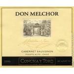 Concha y Toro Concha Y Toro Don Melchor Cabernet Sauvignon 2015<br />Puente Alto, Chile<br /> 98pts-JS, 96pts-WS, 94pts-WE