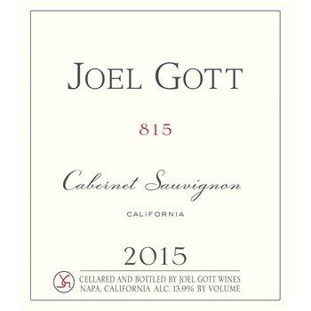 Joel Gott Joel Gott Cabernet Sauvignon 815 2015<br />California