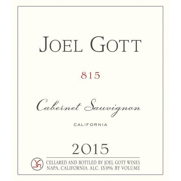 Joel Gott Joel Gott Cabernet Sauvignon 815 2016<br />California