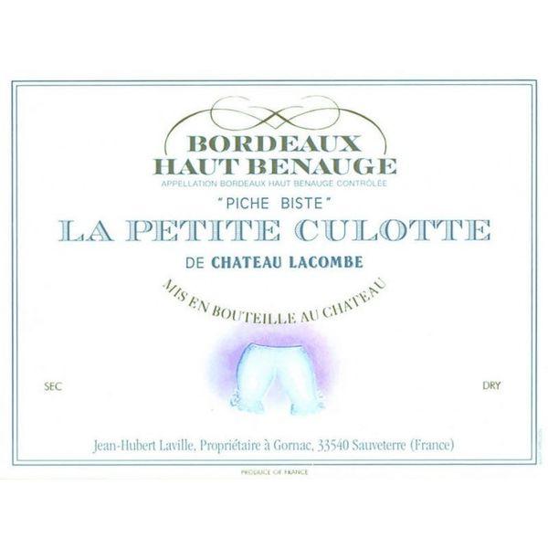 Chateau Lacombe La Petite Culotte 2010<br /> Bordeaux, France