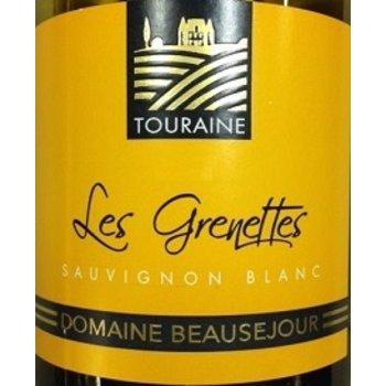 Domain Beausejour Les Grenettes Savignon Blanc Touraine 2017<br /> Loire Valley, France