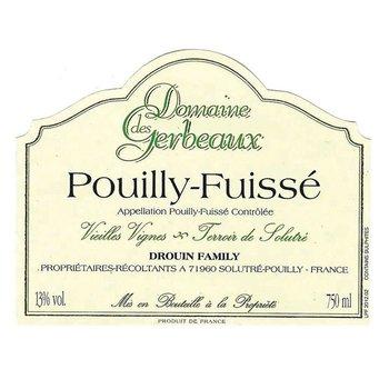 Domaine des Gerbeaux Pouilly-Fuisse 2017<br /> Bugundy, France