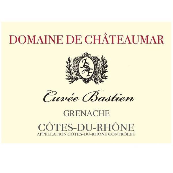 Domaine De Chateaumar Cotes du Rhone Cuvee Bastien 2019<br /> Rhone, France