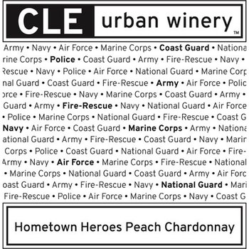Cle Urban Winery Hometown Heroes Peach Chardonnay<br /> Ohio