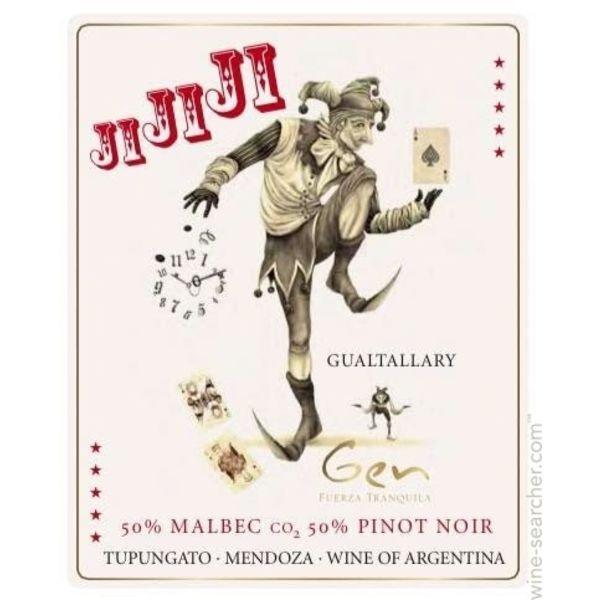 Gen del Alma Ji Ji Ji Malbec/Pinot 2018  <br /> Mendoza, Argentina<br /> 93pts-WA