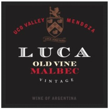 Luca Luca Old Vine Malbec 2015  <br /> Mendoza, Argentina <br /> 93pts-JS, 92pts-WE, 90pts-WS, 90pts-WA