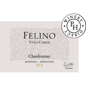 Vina Cobos/Paul Hobbs Felino Chardonnay 2016<br /> Mendoza, Argentina<br /> 90pts-WA