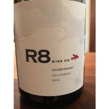 R8 Wine Co. Chardonnay 2016<br /> California