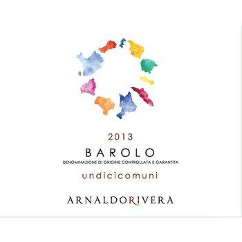 Arnaldo Rivera Undicicomuni Barolo 2013<br /> Piedmont, Italy<br /> #54 Wine Spectator Top 100 of 2018 <br /> 93pts-WS, 92pts-JS, 90pts-WE, 90pts-WA