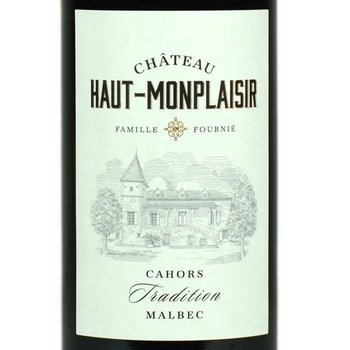 Ch Haut-Monplaisir Tradition Manbec 2015<br /> Cahors, France
