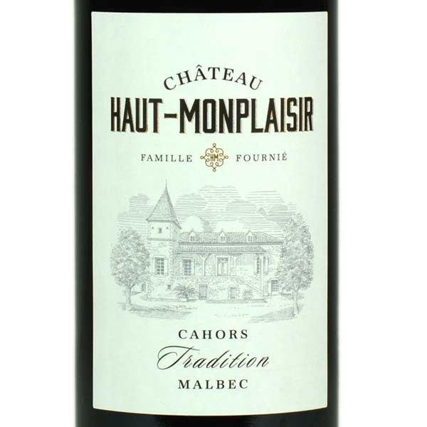 Ch Haut-Monplaisir Tradition Malbec 2016<br /> Cahors, France