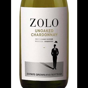 Zolo Unoaked Chardonnay 2019<br /> Mendoza, Argentina