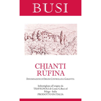 Busi Chianti Rufina 2016<br /> Tuscany, Italy