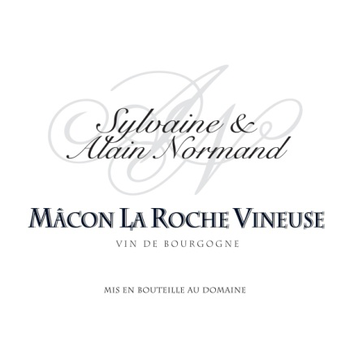 Domaine Alain Normand Macon La Roche Vineuse 2016<br /> Burgundy, France