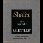 Shafer Relentless Syrah 2016<br />Napa, California<br /> 95pts-WA