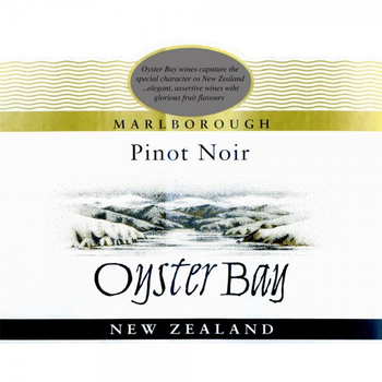 Oyster Bay Oyster Bay Pinot Noir 2019<br /> Marlborough, New Zealand